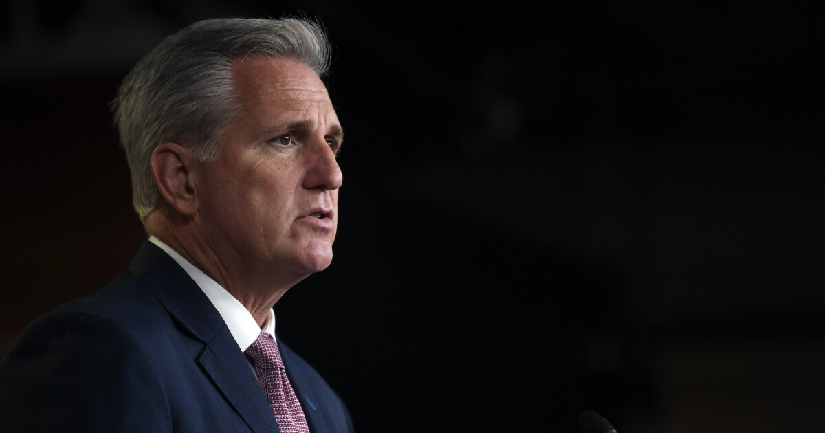 'Defending destruction': Kevin McCarthy slams Pelosi's reluctance to call out statue vandalism