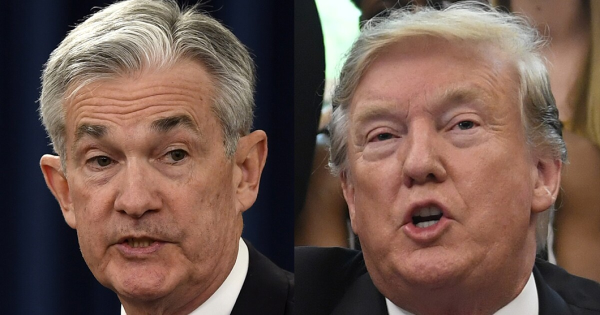 Fed chief brushes off Trump's latest policy suggestion: A rate cut