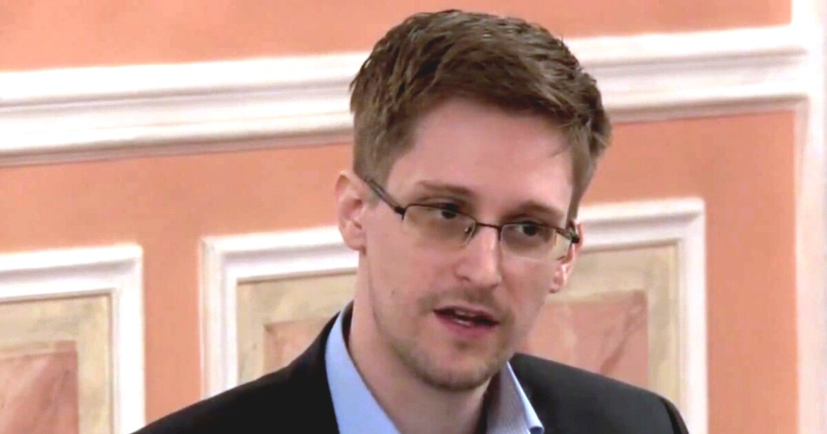 Edward Snowden after first 'Presidential Alert' test: 'All our lives dangle at the end of a wire'