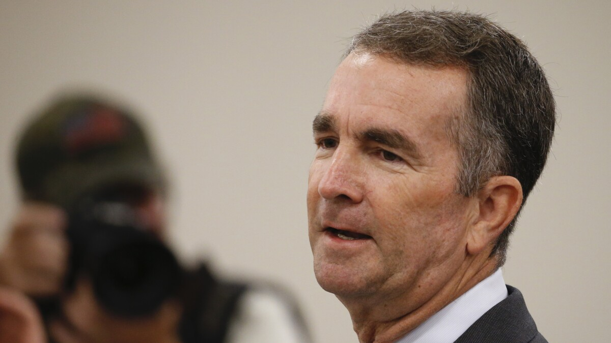 Ralph Northam is demonizing gun owners to distract from his racist past