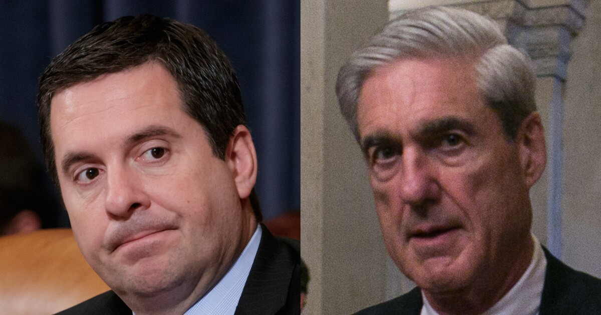 Image result for Devin Nunes: Mueller's team is 'part of the collusion'