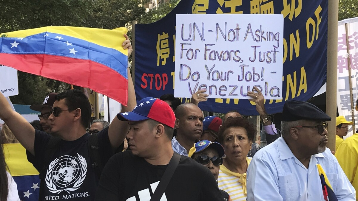 Venezuela is on the Human Rights Council and the UN should be ashamed