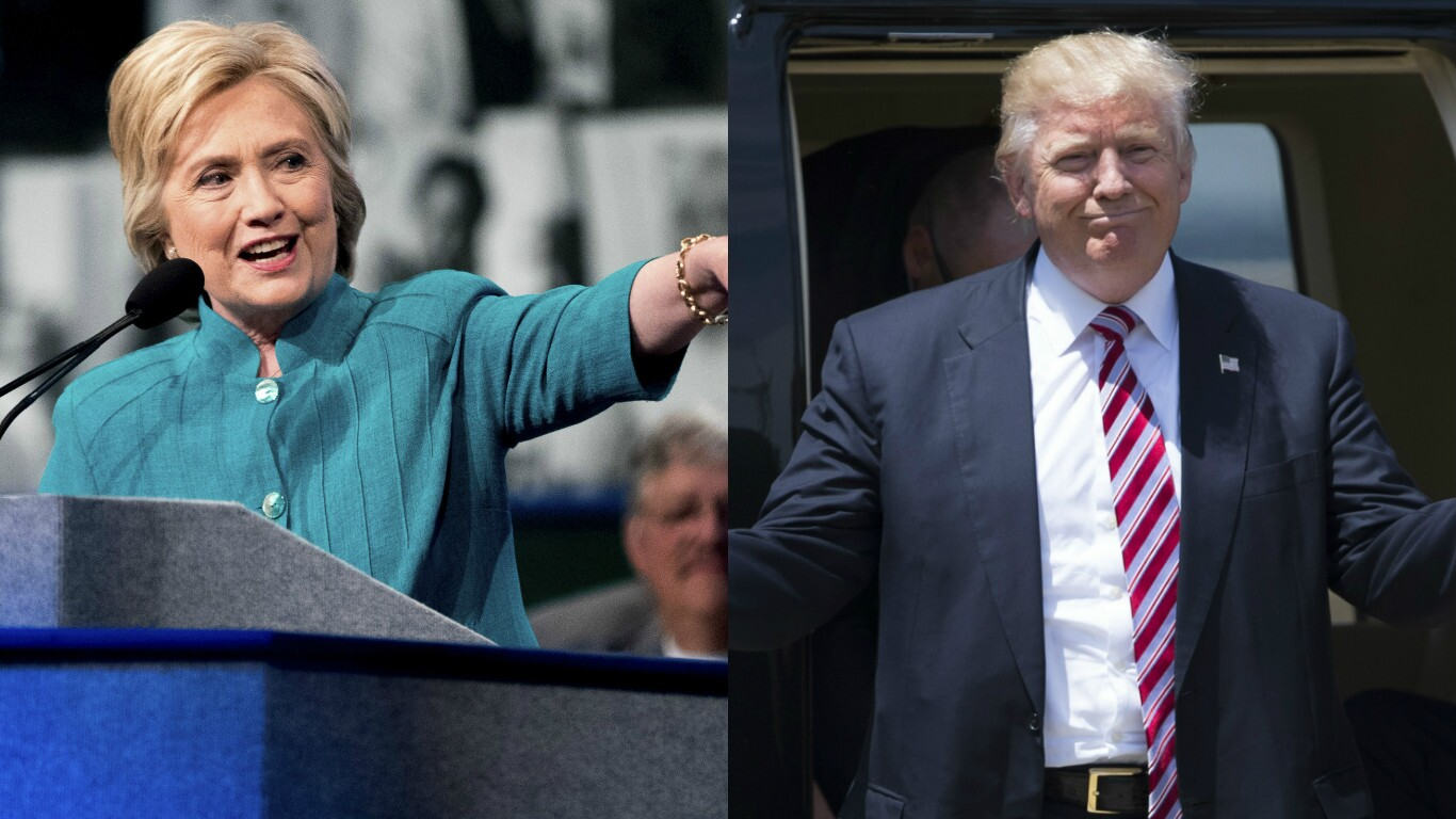 Hillary Clinton claps back at Trump for attacking her at 2020 launch rally