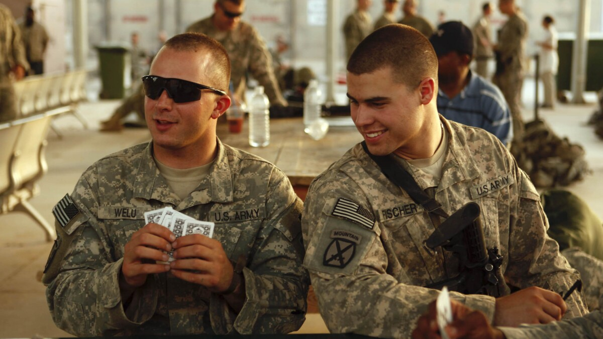 Army distributing playing cards to teach soldiers about weapons from Iran, China, and Russia
