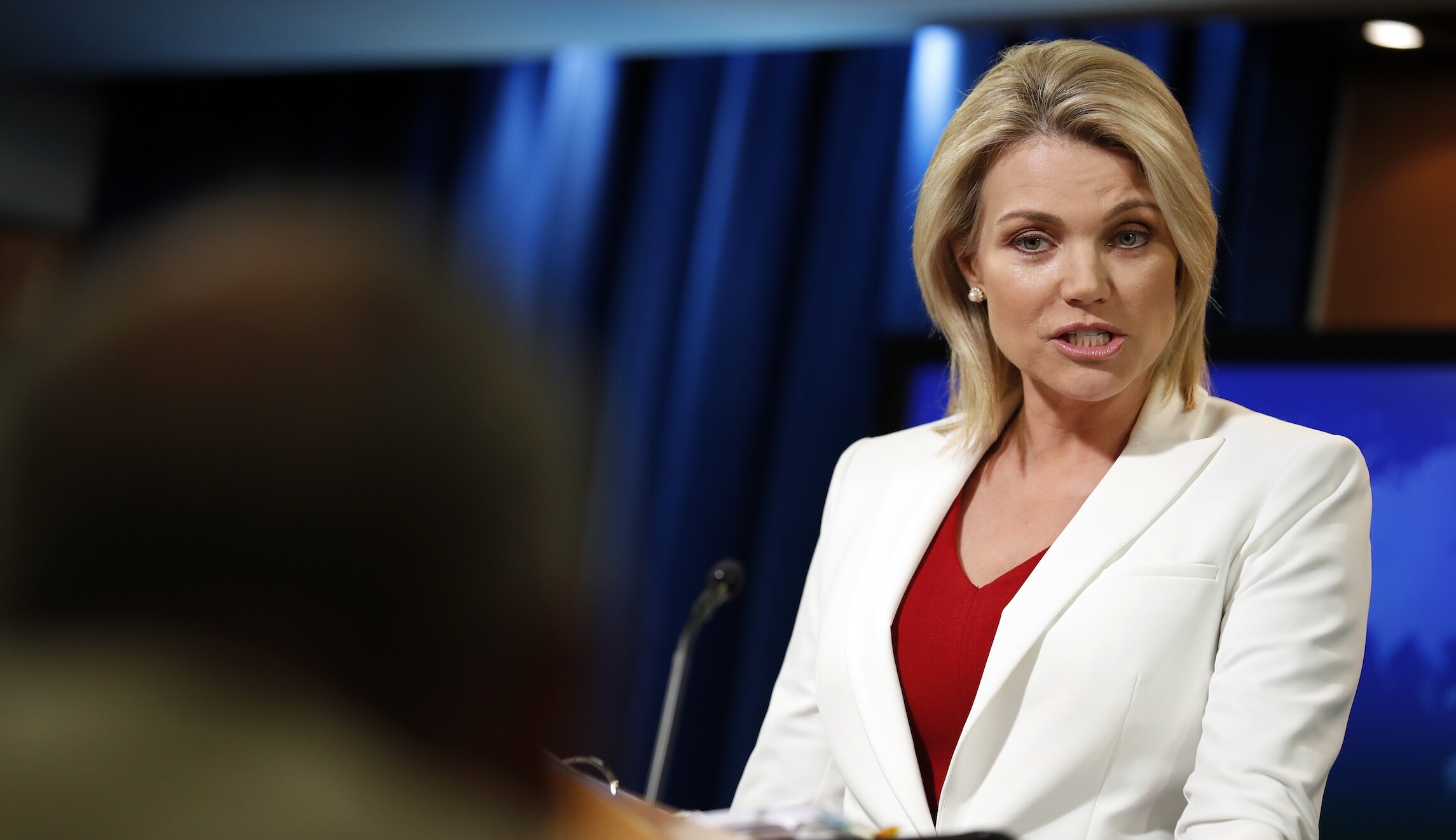 Heather Nauert out: White House press secretary hopeful no longer in contention