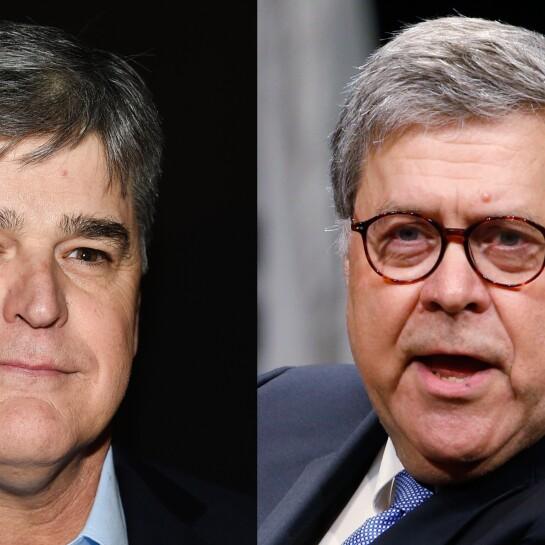 Sean Hannity, William Barr