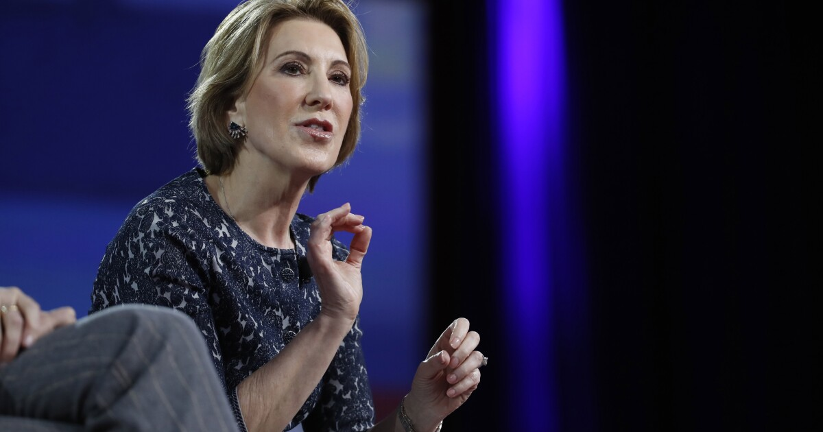 Hey Virginia GOP: Recruit Carly Fiorina and save your party