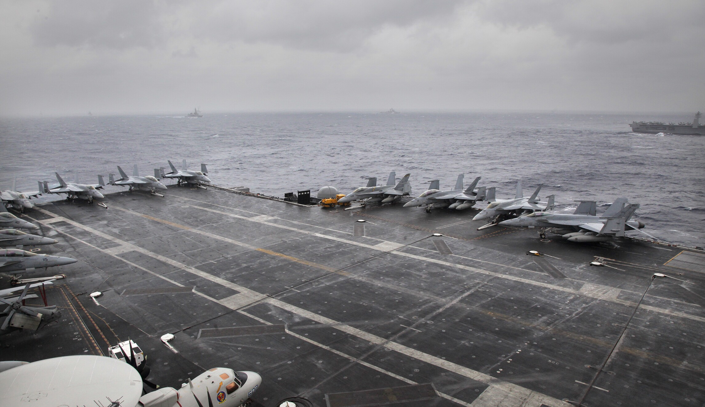 Why our adversaries hate U S  aircraft carriers (and how Trump can