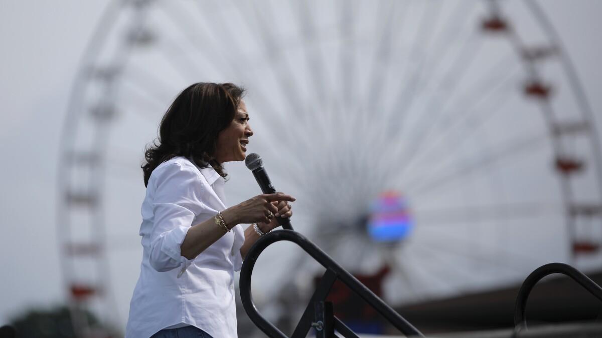 Kamala Harris uncomfortable with healthcare plan she co-sponsored