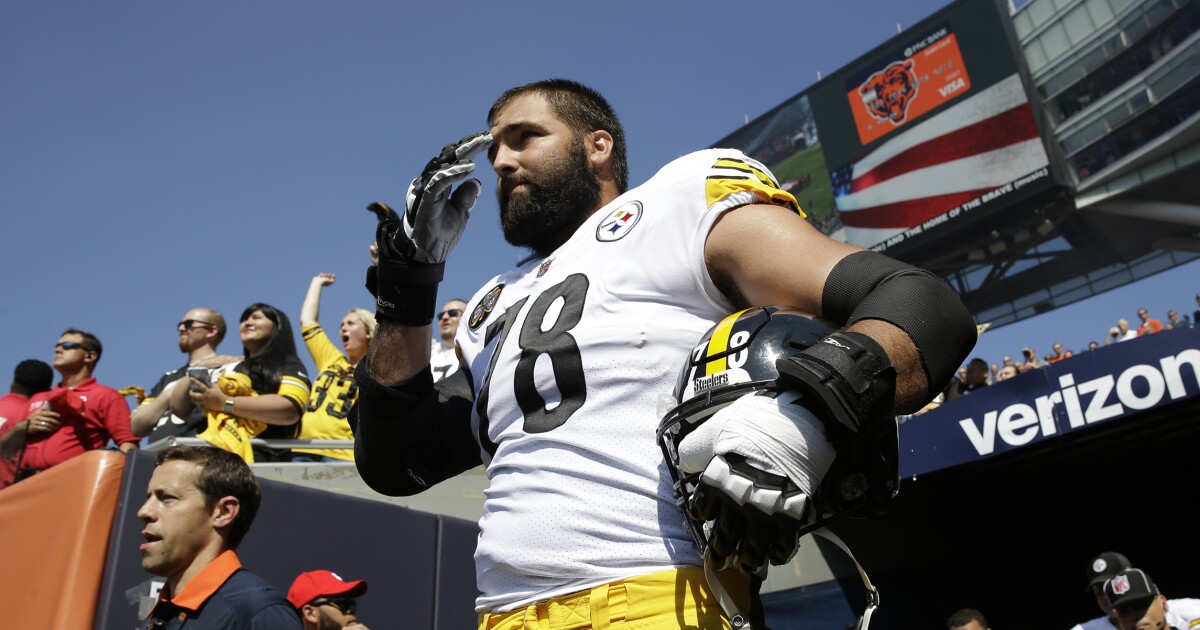 09d8ba2eb Jersey sales soar for Pittsburgh Steelers player who stood for the national  anthem