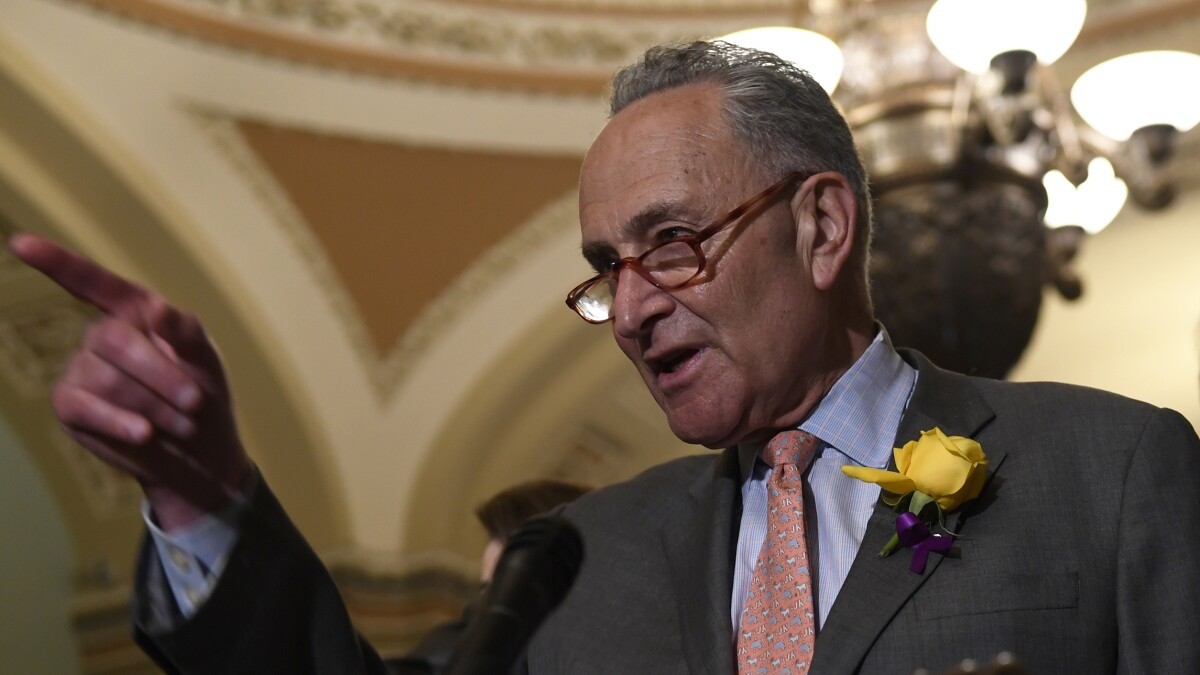 Senate vote to block wall funding shift falls short of veto override power