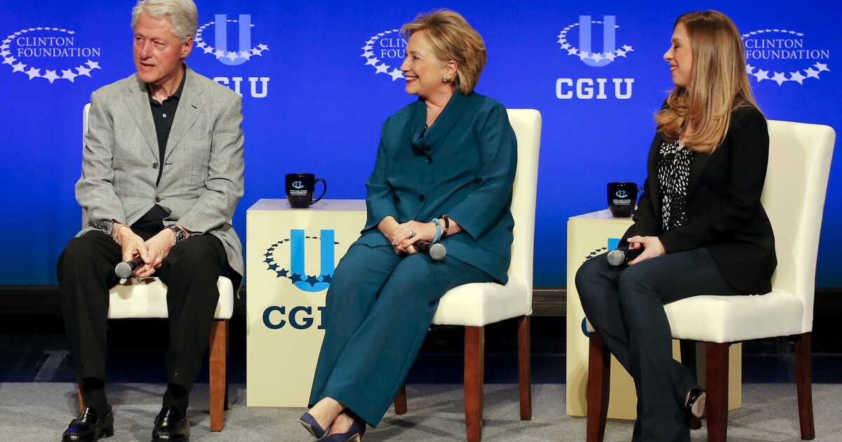 Clinton: Media, opponents 'savagely smeared' the Clinton Foundation