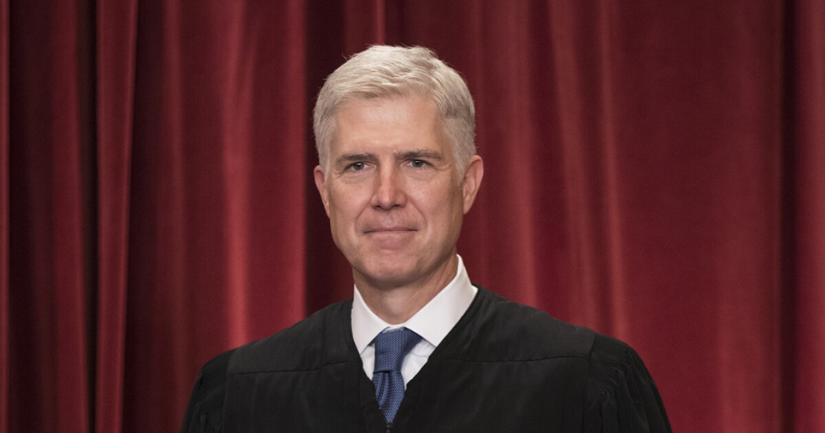 Gorsuch sides with liberal justices in 5-4 decision