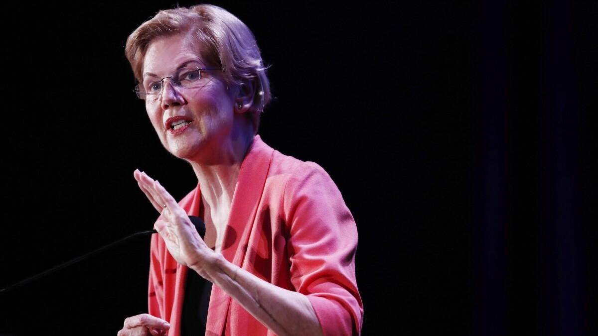 Elizabeth Warren promises reparations for gay couples