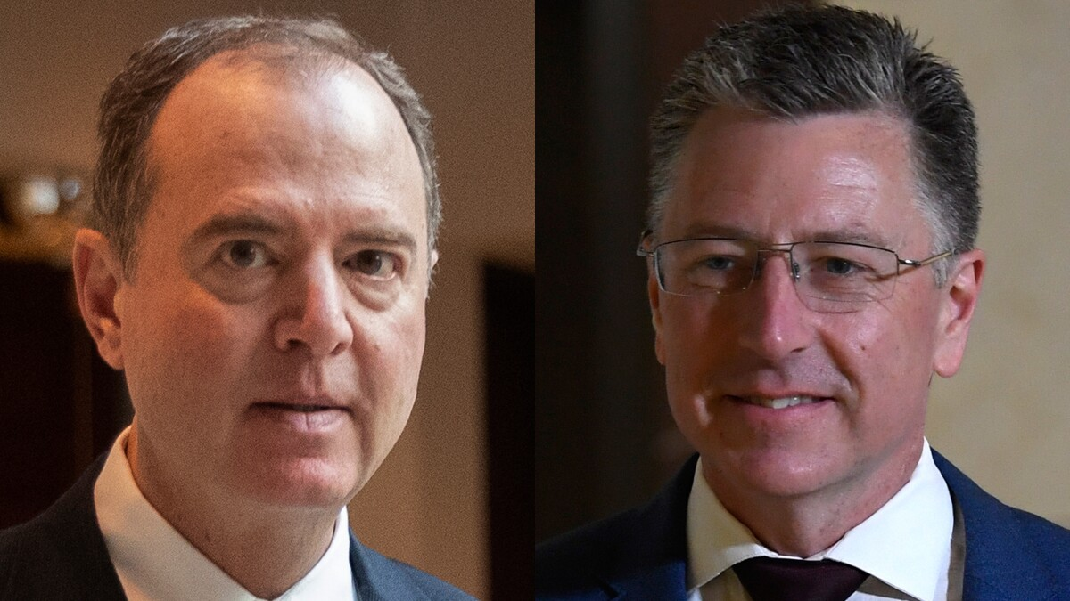Schiff pushed Volker to say Ukraine felt pressure from Trump