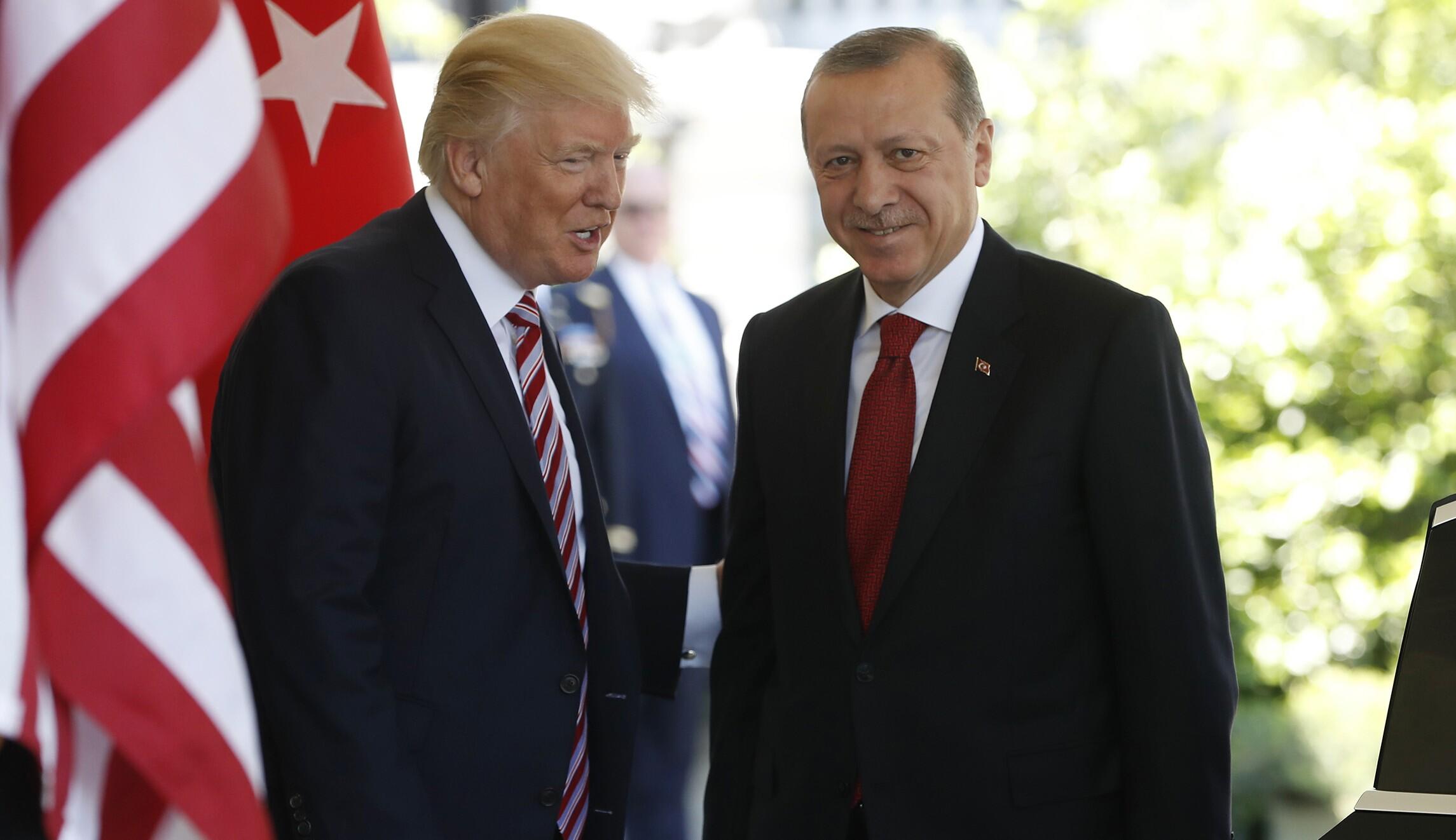 Trump Told Turkish President Recep Tayyip Erdogan He S Cutting Off
