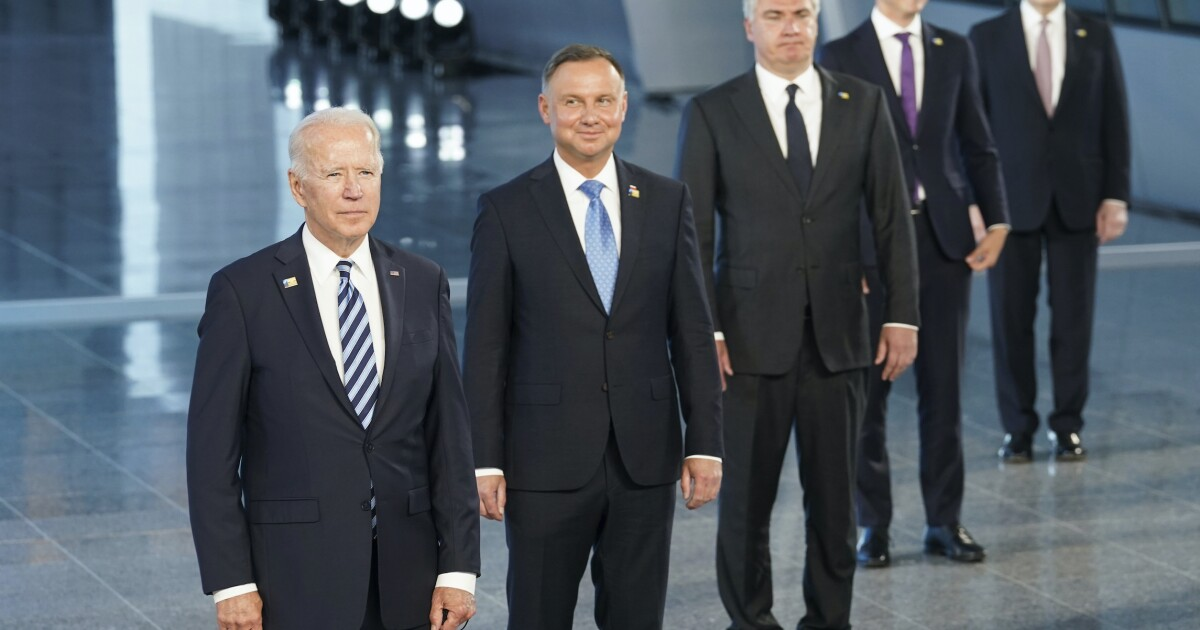 Biden fully rejects Trump's NATO frame in Brussels