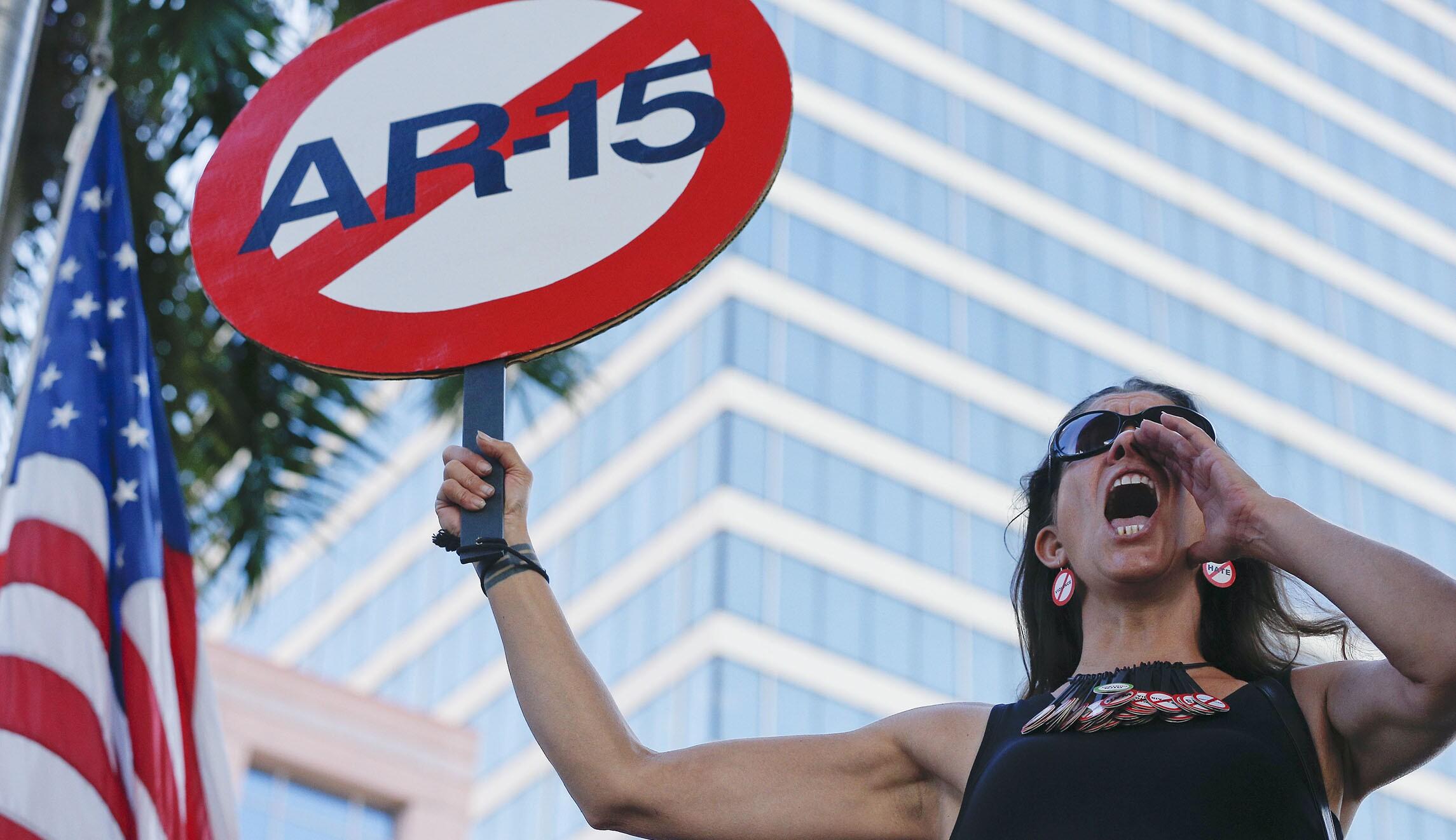 survey majority of democrats want to ban semi automatics half want