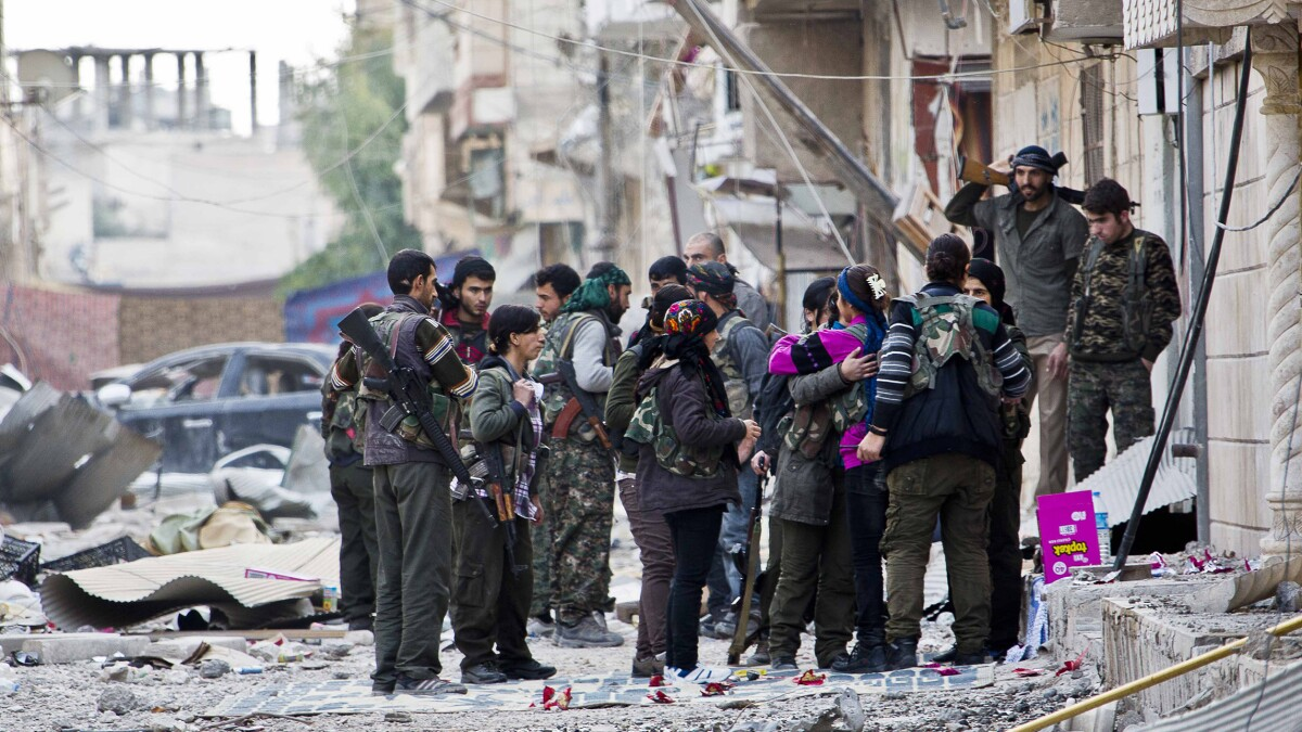 Turkey invasion of Syria targets US ally in fight against ISIS