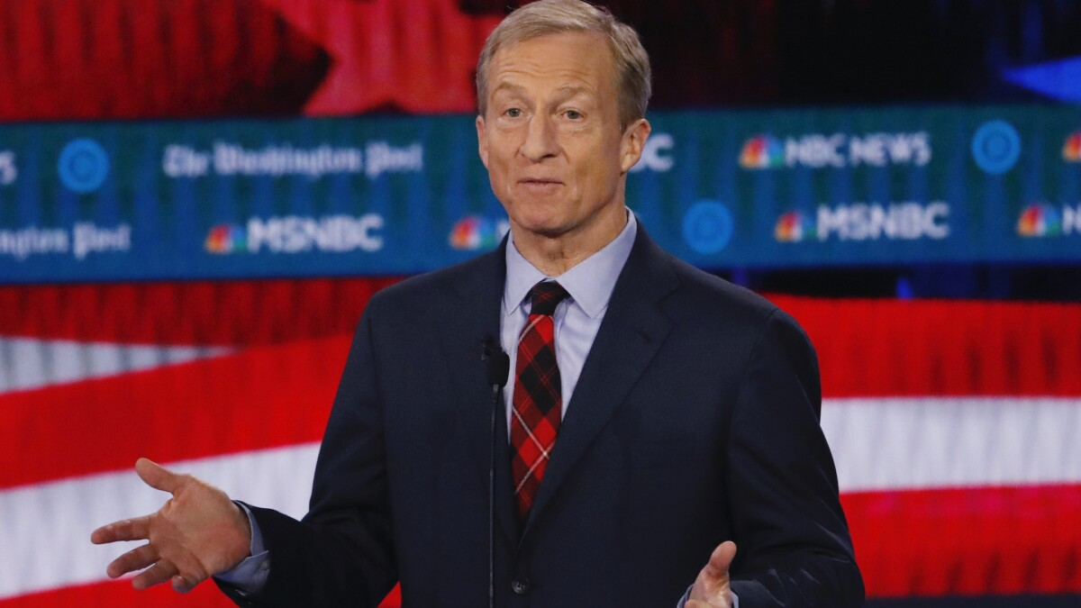 'You bought your way': Meghan McCain says billionaire Tom Steyer's massive campaign spending is unfair