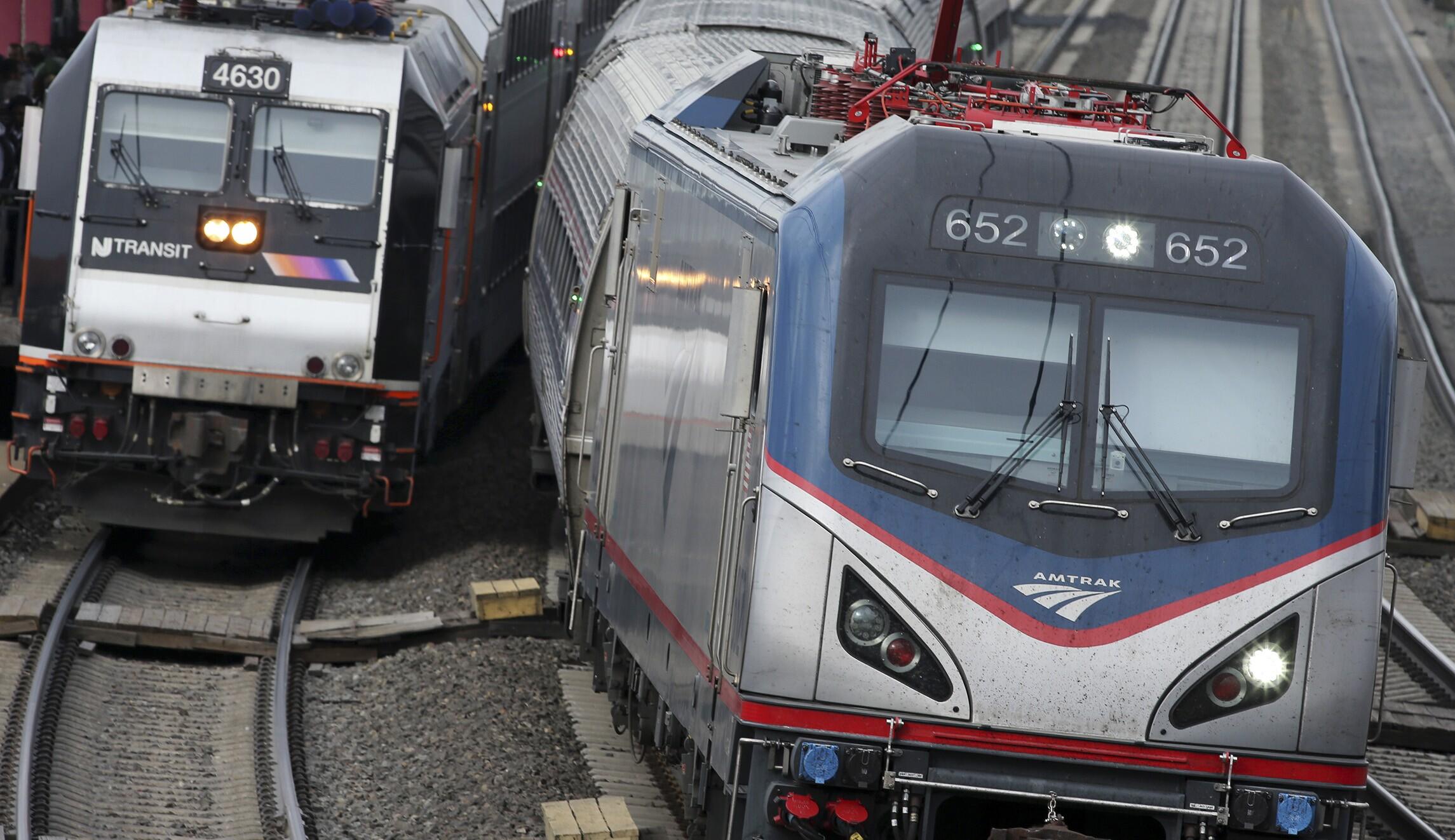Amtrak train kills two railroad employees in downtown