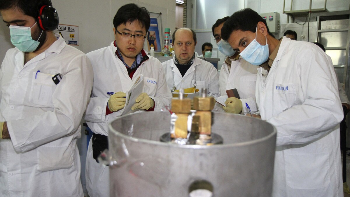 Iran says it has the ability to enrich uranium 'at any percentage'
