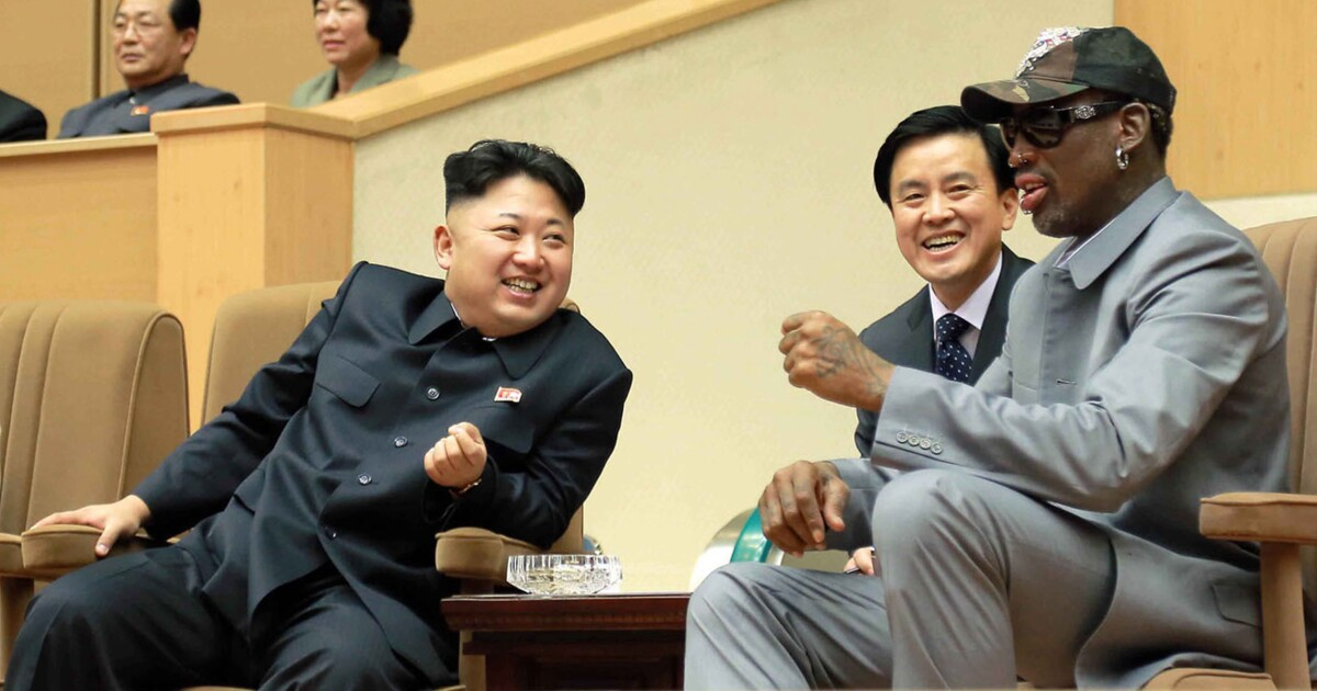 Trump: Dennis Rodman is better at negotiating with Kim Jong Un than 'stiffs' from Harvard