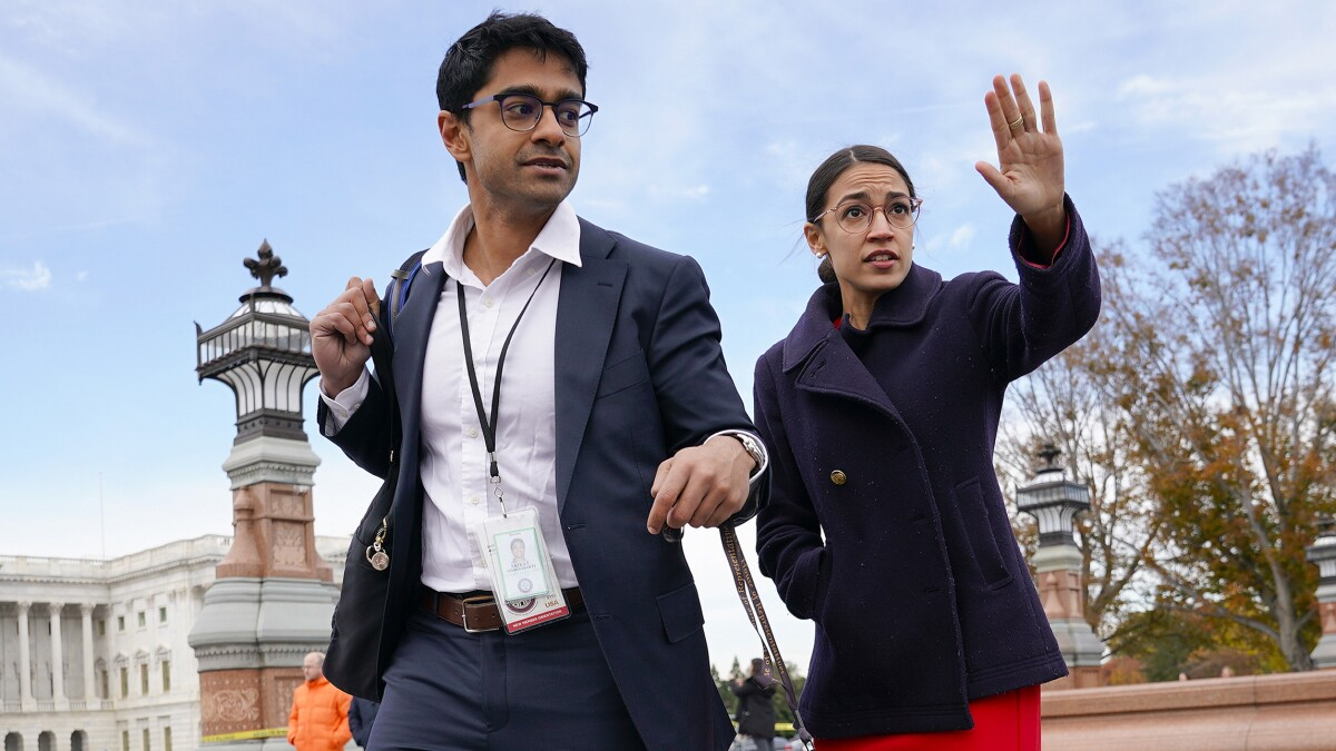 Disarray: House Democrats slam AOC chief of staff as party infighting heats up