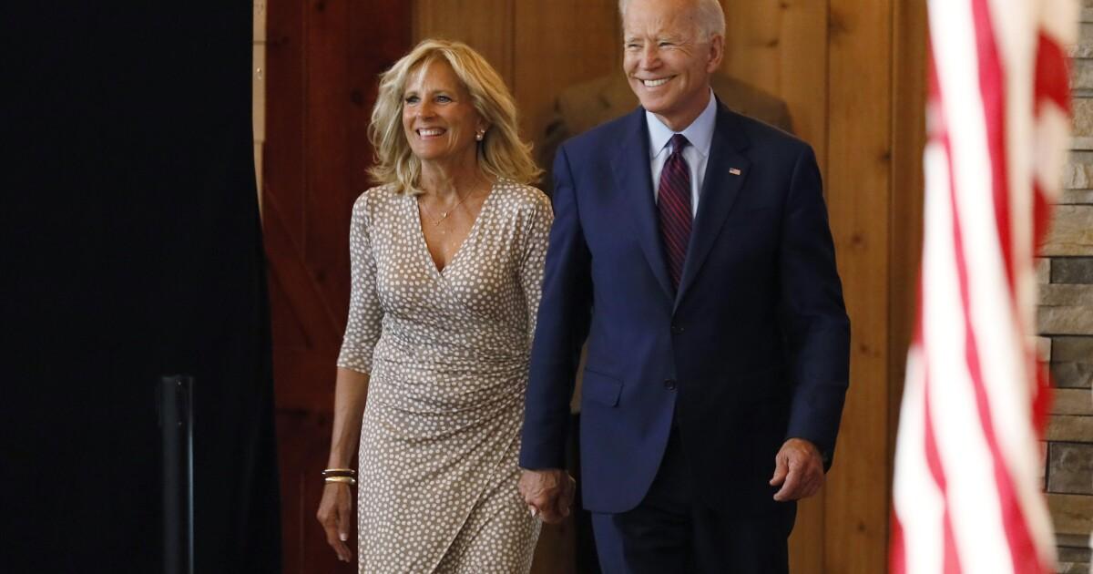 'Secret asset': Joe Biden leans heavily on wife Jill as he battles to overcome campaign stumbles - Washington Examiner