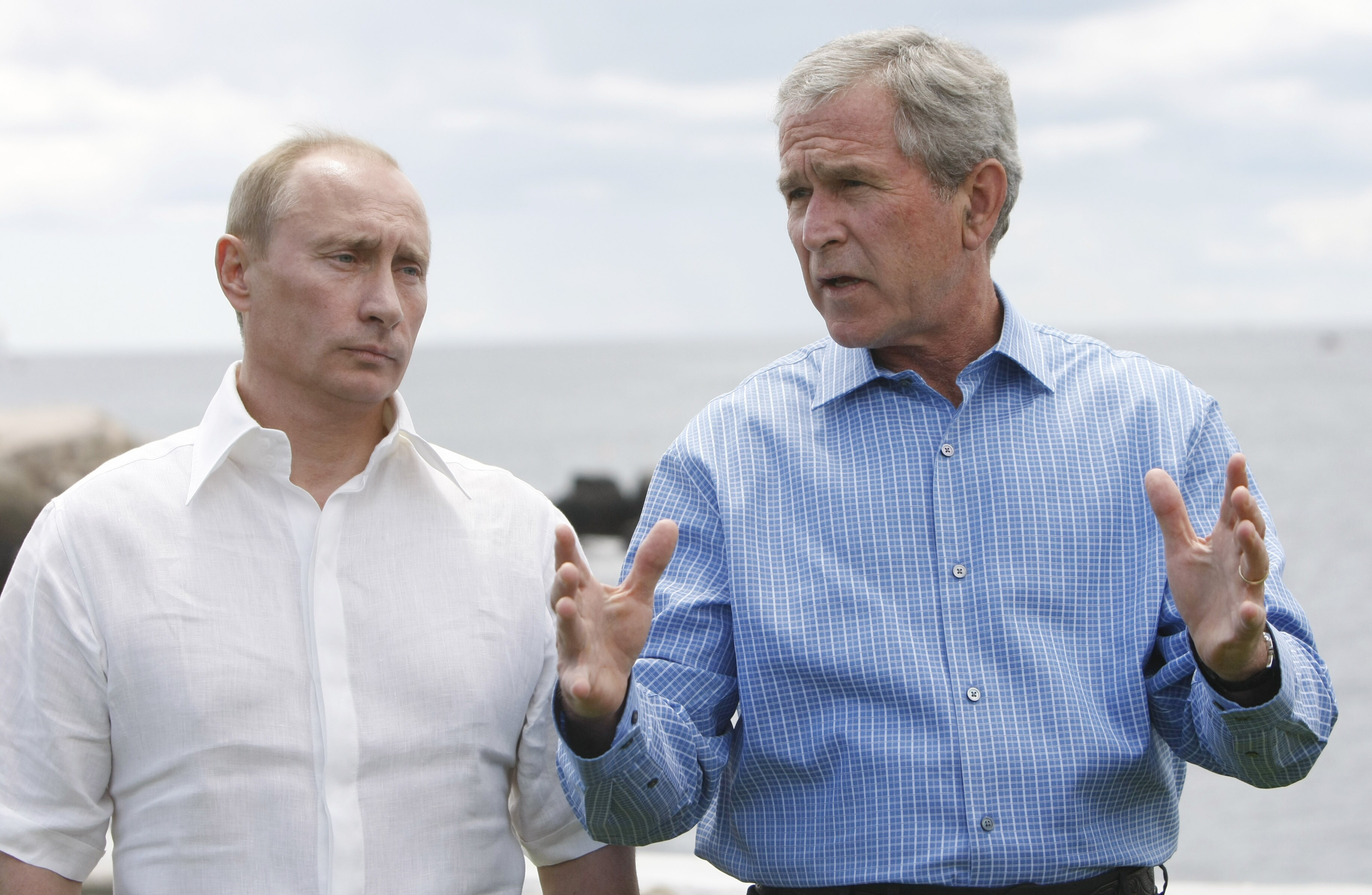 George W Bush Putin Changed Since I Looked Into His Eyes And Saw