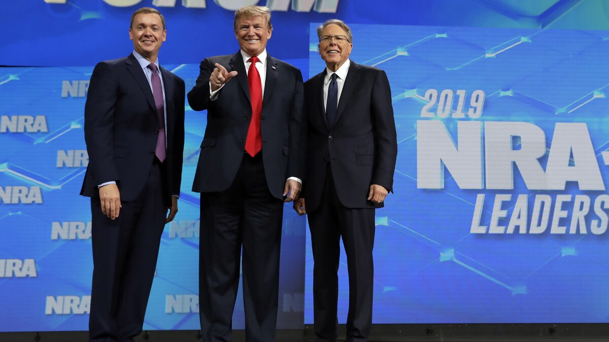New lawsuit says NRA's second-in-command also behind attempted coup against Wayne LaPierre
