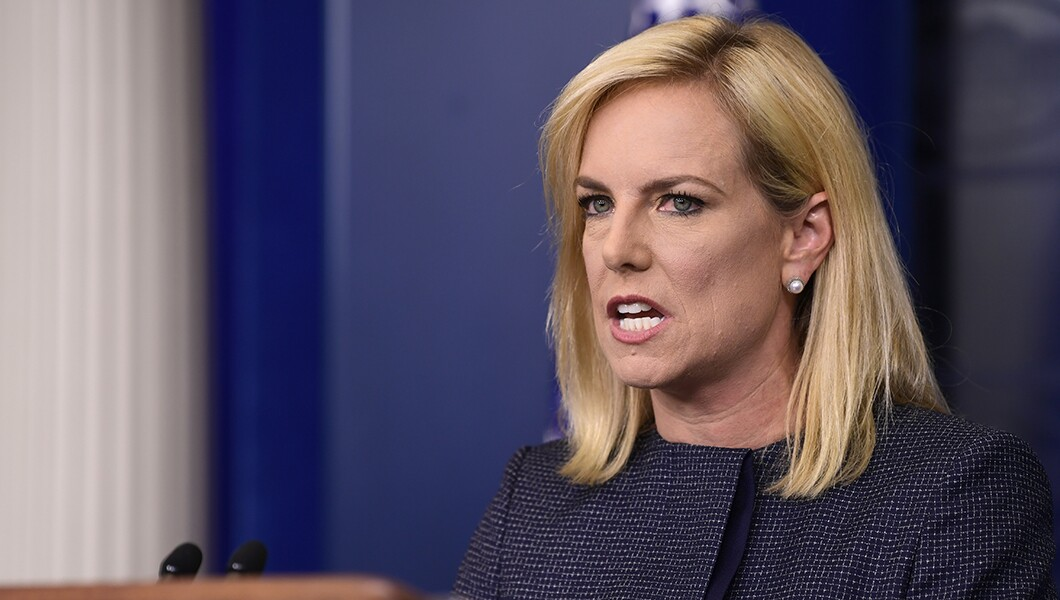 Kamala Harris DHS Secretary Nielsen Should Step Down Over