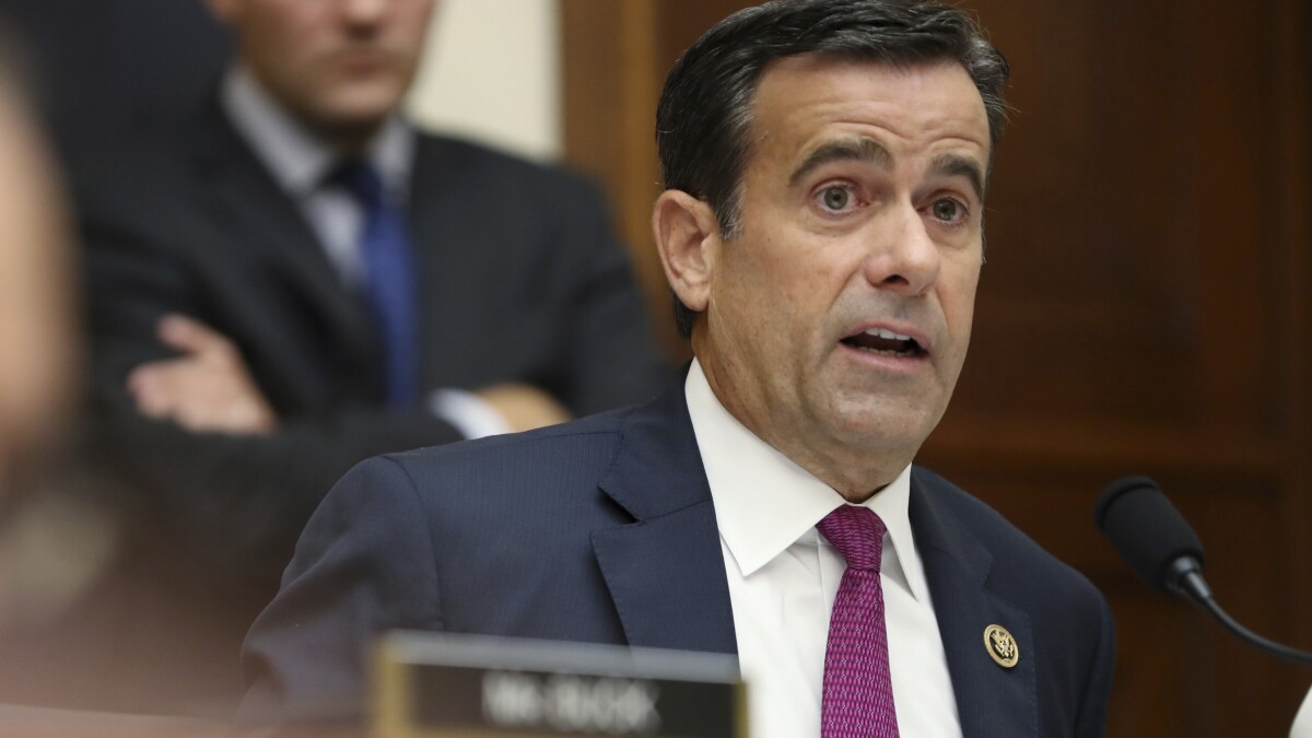 'There is no quid pro quo': Devin Nunes says John Ratcliffe 'destroyed' diplomat in deposition