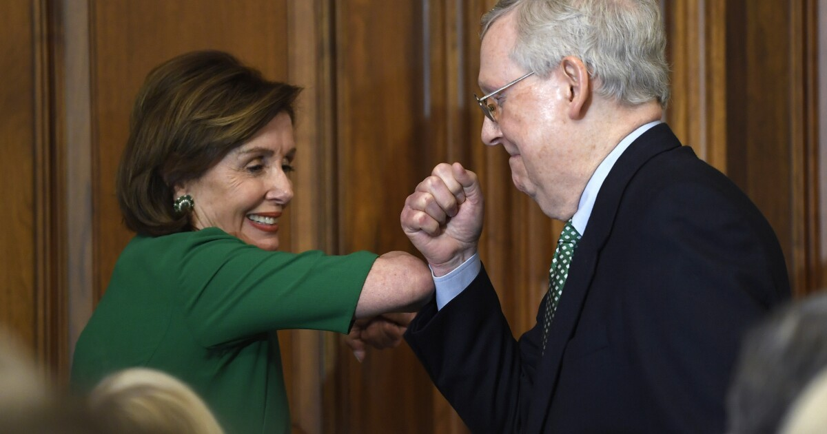 Congressional leaders receive at least $1M in pension payouts paid for by taxpayers