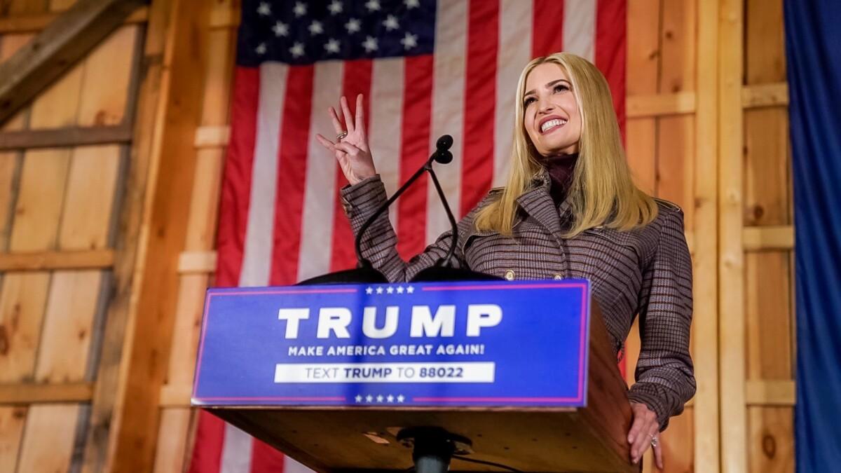 Ivanka Trump's 'Yuge' fundraising better than Obama's