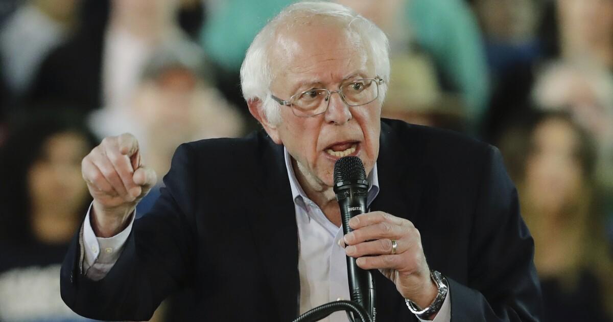 Fascist Mussolini shirt pictured in Bernie Sanders campaign mailer