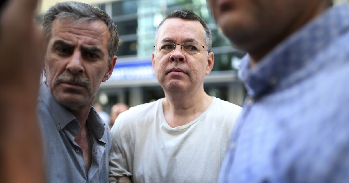 Turkey releases pastor Andrew Brunson