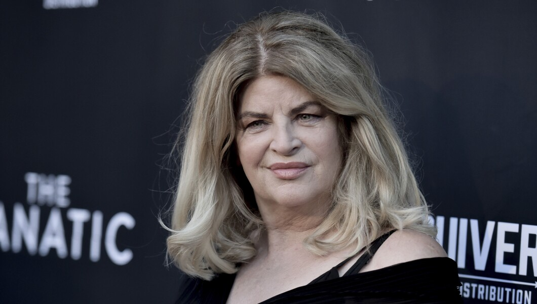 Kirstie Alley attends an event.