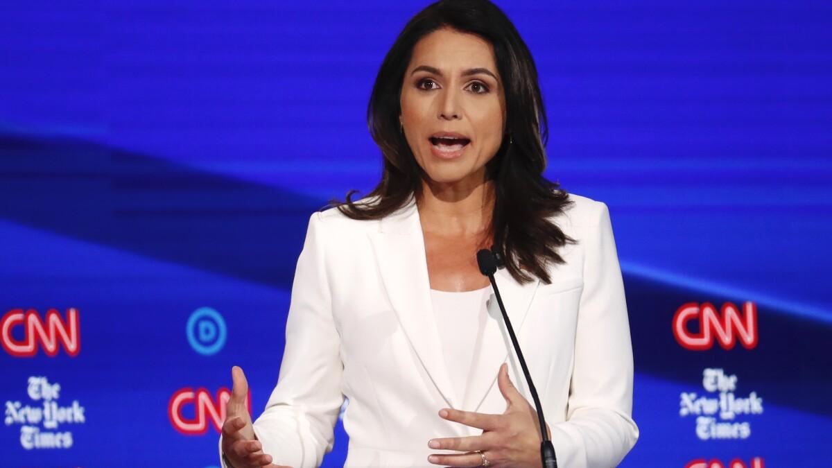 'Politicians disgust me': Twitter explodes after Clinton calls Gabbard a 'Russian asset'
