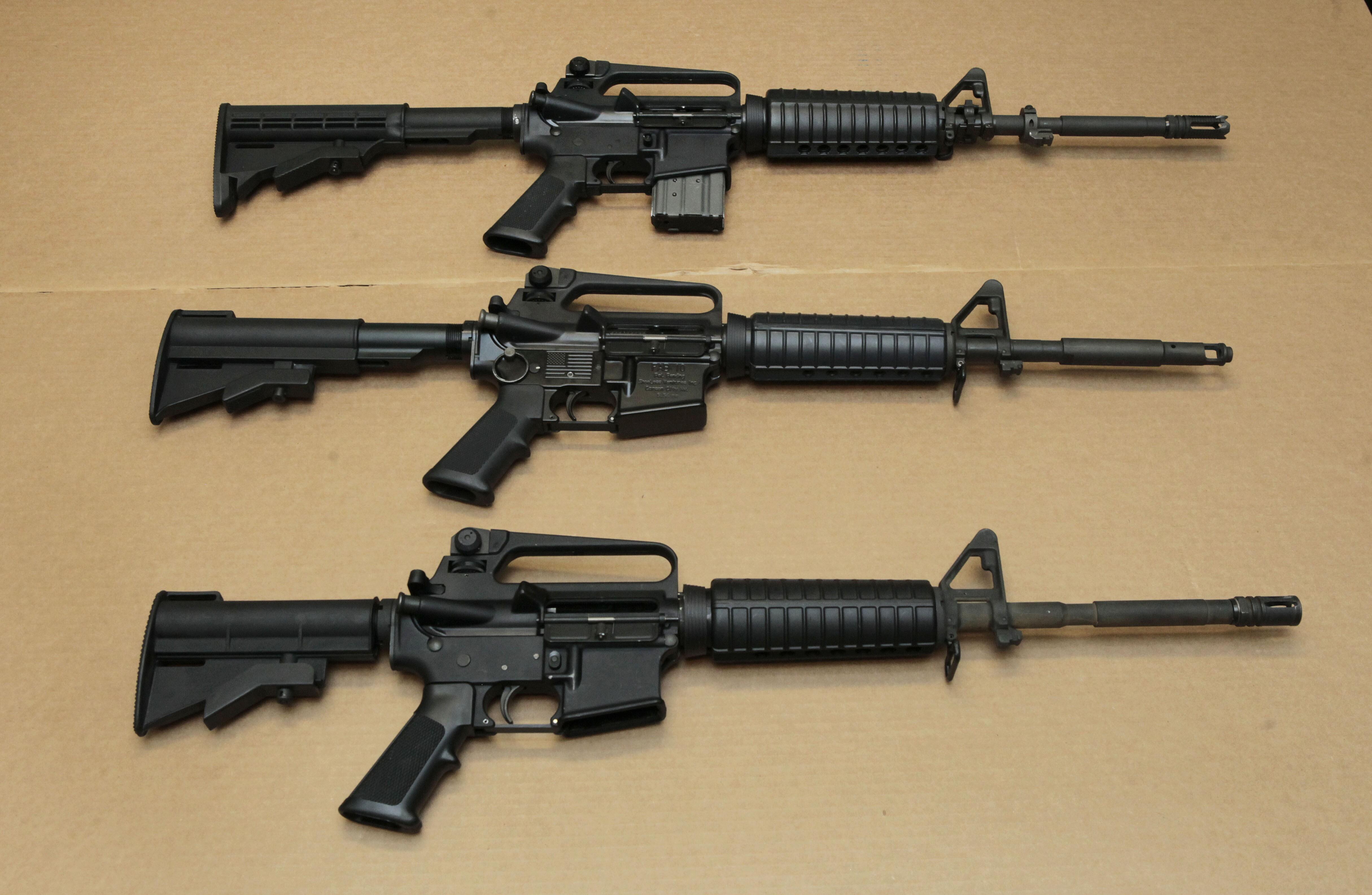 why it's a 'modern sporting rifle,' not an 'assault weapon'