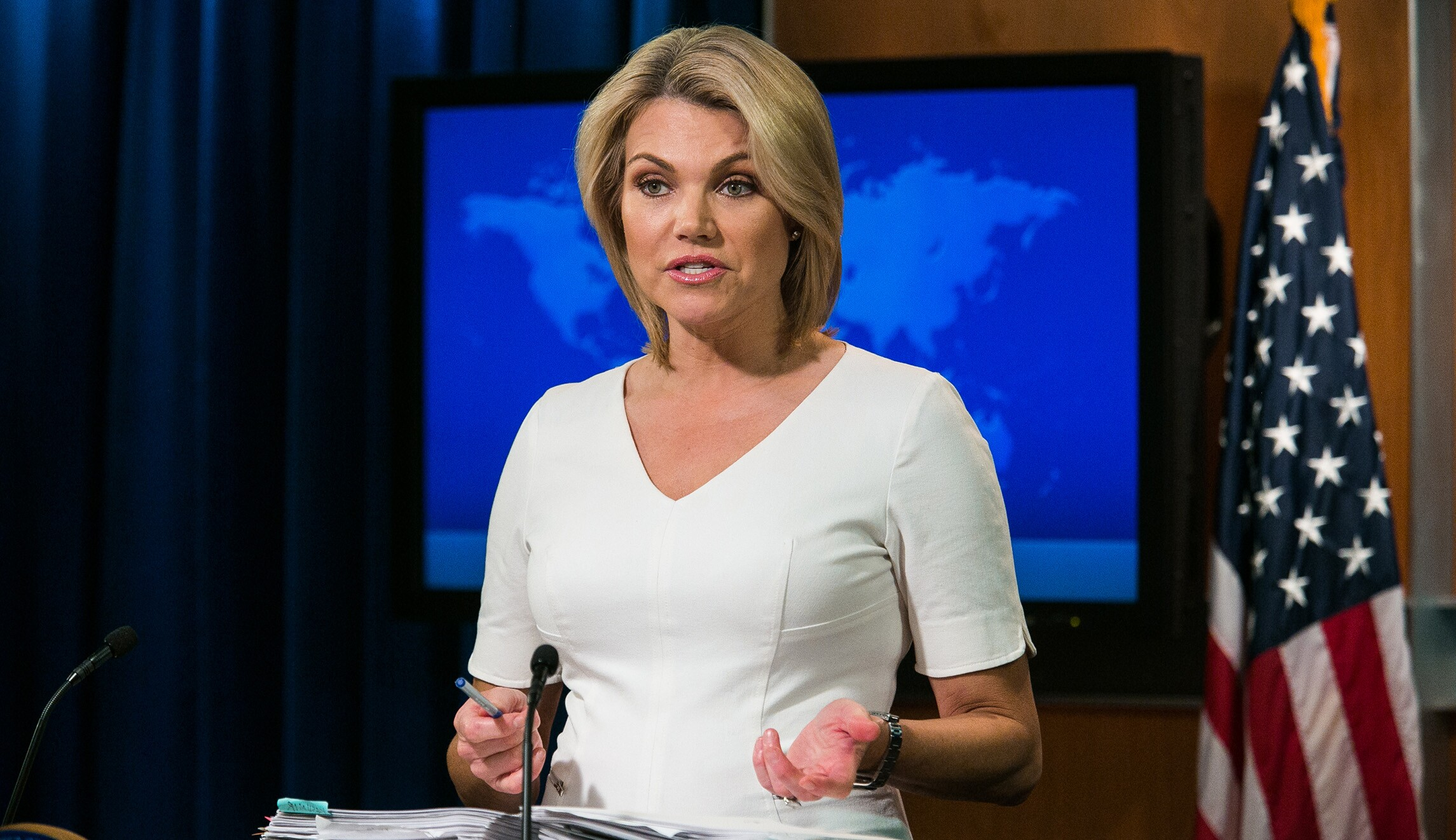 Heather Nauert withdraws as UN ambassador choice