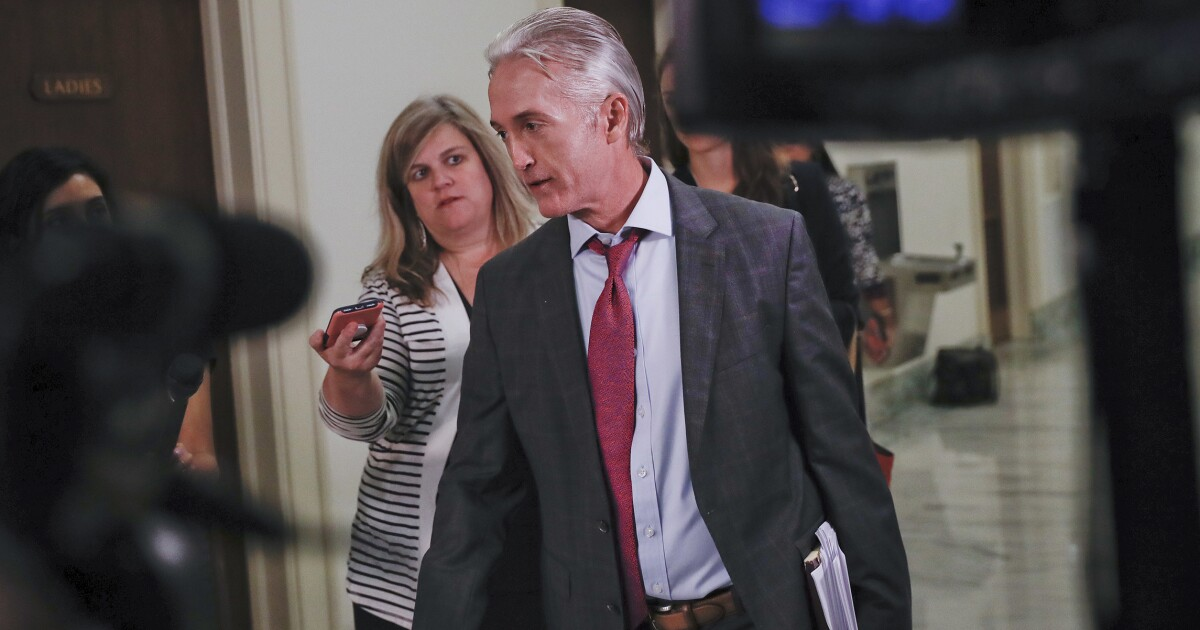 Trey Gowdy: Be a reporter, not a lawmaker if you want to see the McCabe memos