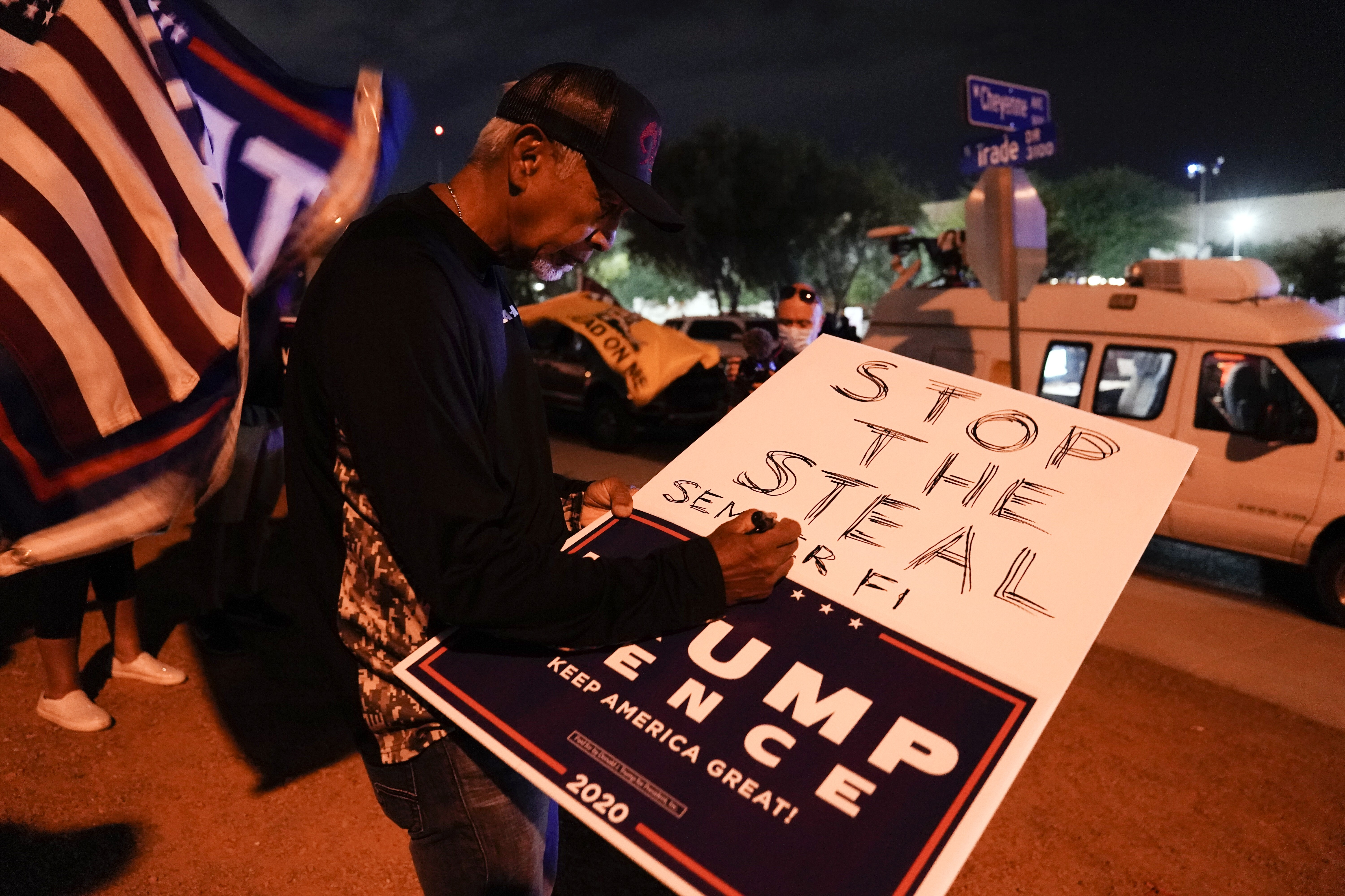 Election 2020 Protests Nevada