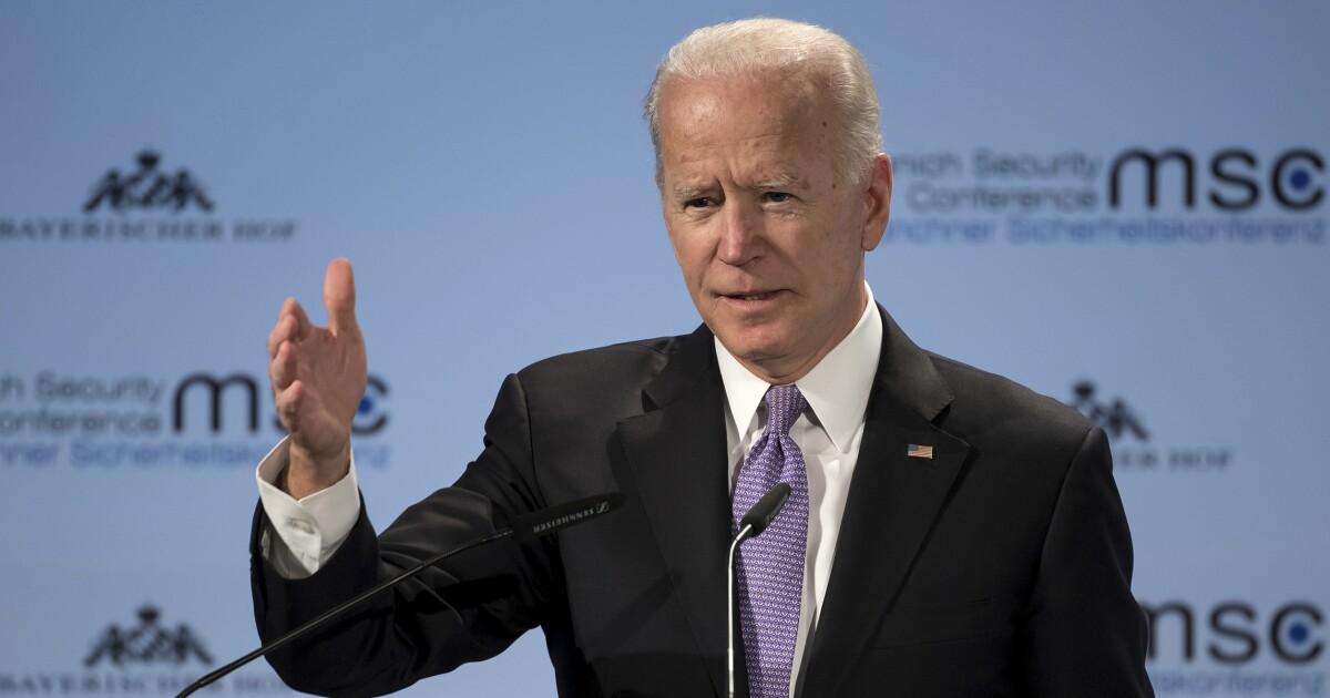 Biden tells Europeans in Munich that America is 'an embarrassment'