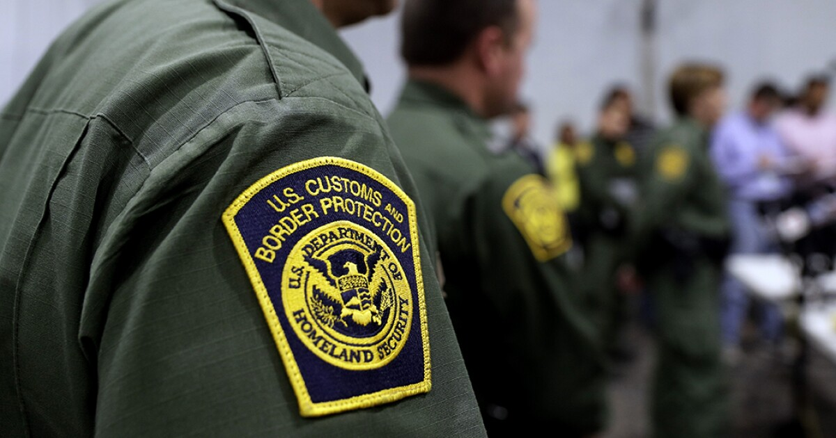 The Border Patrol video shows how migrants are detained to