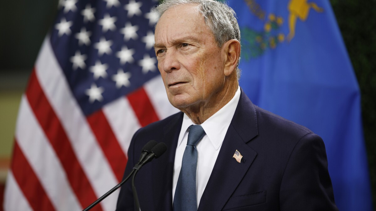 Only 45 people attend Bloomberg rally with Judge Judy despite campaign's big spending