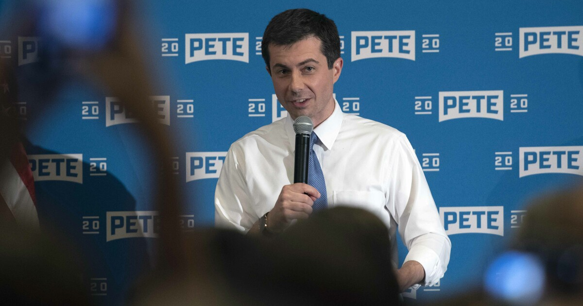 Pete Buttigieg stands by call for Ralph Northam and Justin Fairfax to resign ahead of big Virginia dinner