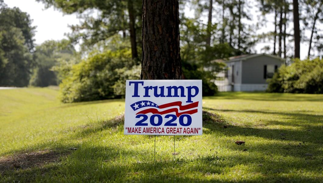 Trump 2020 campaign sign 070518