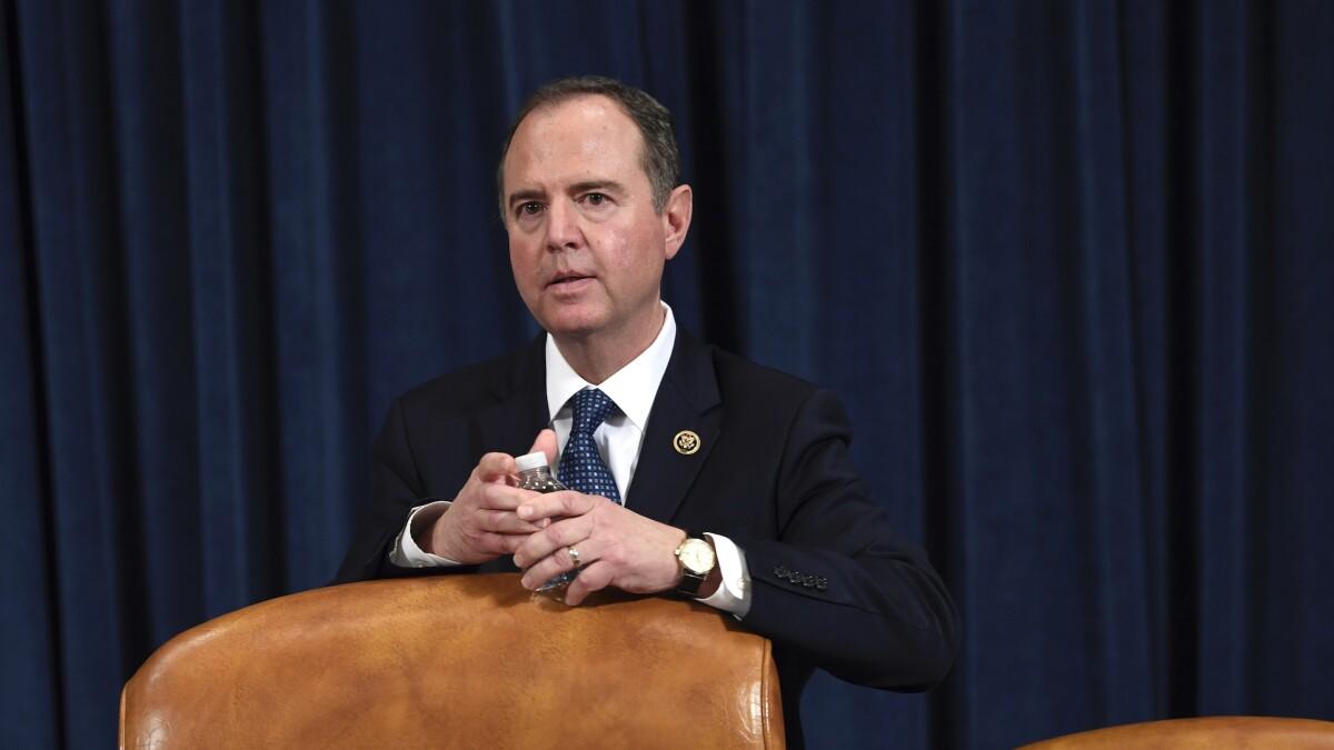 Schiff asks Trump's spy chief to testify