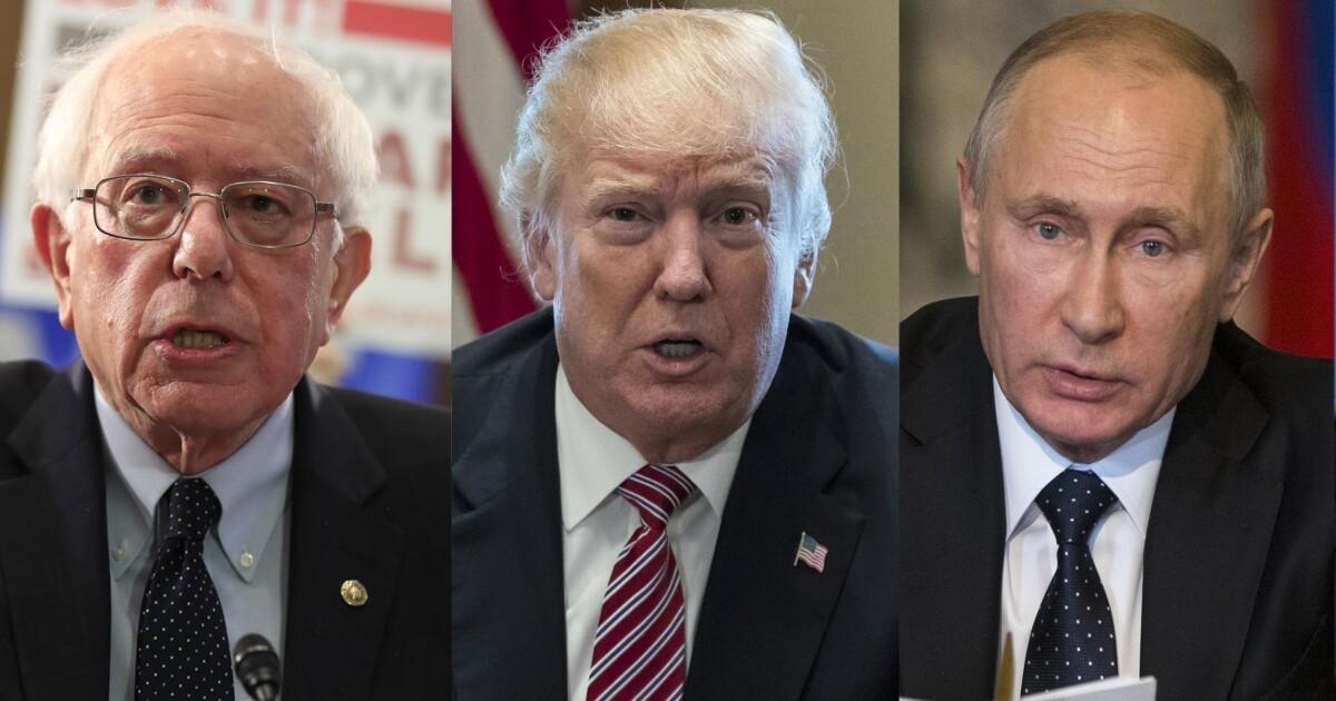 If it's Sanders versus Trump, Vladimir Putin will be a Bernie KGB bro
